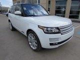 2016 Land Rover Range Rover Fuji White