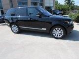 2016 Santorini Black Metallic Land Rover Range Rover HSE #115484013