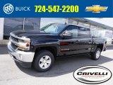2017 Black Chevrolet Silverado 1500 LT Crew Cab 4x4 #115483987