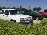 2004 Summit White Chevrolet Silverado 1500 LS Extended Cab #115498498