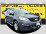 2013 Atlantis Blue Metallic Chevrolet Traverse LS #115498426