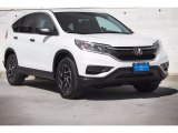 2016 White Diamond Pearl Honda CR-V SE #115498461