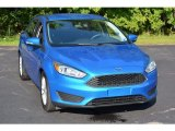 2015 Blue Candy Metallic Ford Focus SE Sedan #115513472