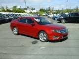 2010 Sangria Red Metallic Ford Fusion Sport AWD #115513417