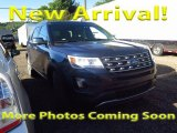 2016 Blue Jeans Metallic Ford Explorer Limited 4WD #115513460