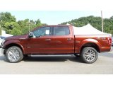 2016 Bronze Fire Ford F150 Lariat SuperCrew 4x4 #115535483
