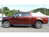 2016 Bronze Fire Ford F150 Lariat SuperCrew 4x4 #115535481