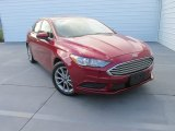 2017 Ruby Red Ford Fusion SE #115535521