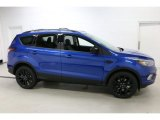 2017 Lightning Blue Ford Escape SE 4WD #115535251