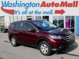 2013 Basque Red Pearl II Honda CR-V LX AWD #115535400