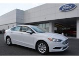 2017 Oxford White Ford Fusion S #115563219