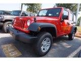 2016 Firecracker Red Jeep Wrangler Unlimited Sport 4x4 #115563163