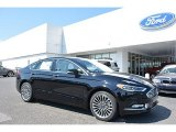 2017 Shadow Black Ford Fusion Titanium #115563218