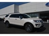 2017 White Platinum Ford Explorer Platinum 4WD #115563216