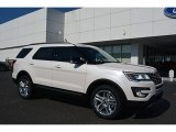 2017 White Platinum Ford Explorer XLT 4WD #115563215