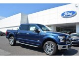 2016 Blue Jeans Ford F150 XLT SuperCrew 4x4 #115563211