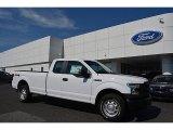 2016 Oxford White Ford F150 XL SuperCab 4x4 #115563210