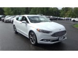 2017 Oxford White Ford Fusion Titanium AWD #115563372