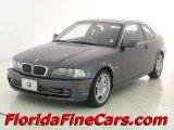 2002 Grey Green Metallic BMW 3 Series 330i Coupe #11539687