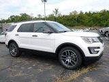 2017 White Platinum Ford Explorer Sport 4WD #115563128