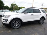 2017 Ford Explorer Sport 4WD Front 3/4 View