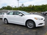2017 Oxford White Ford Fusion SE #115563121