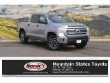 2016 Silver Sky Metallic Toyota Tundra SR5 CrewMax 4x4 #115563021