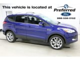 2016 Deep Impact Blue Metallic Ford Escape Titanium 4WD #115562936