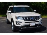 2017 White Platinum Ford Explorer Limited #115563331