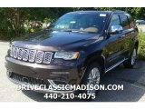 2017 Luxury Brown Pearl Jeep Grand Cherokee Summit 4x4 #115591139