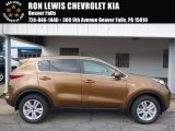2017 Burnished Copper Kia Sportage LX AWD #115590952