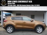 2017 Burnished Copper Kia Sportage LX AWD #115590949