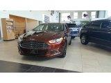 2016 Bronze Fire Metallic Ford Fusion SE AWD #115591170