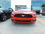 2016 Race Red Ford Mustang EcoBoost Premium Convertible #115591168