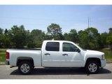 2008 Summit White Chevrolet Silverado 1500 LT Crew Cab #11549220