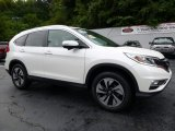 2015 White Diamond Pearl Honda CR-V Touring #115591239