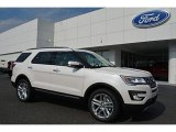 2017 White Platinum Ford Explorer Limited 4WD #115590987