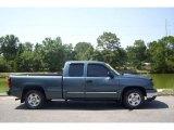 2006 Blue Granite Metallic Chevrolet Silverado 1500 LT Extended Cab #11549203