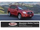 2011 Barcelona Red Metallic Toyota RAV4 V6 Sport 4WD #115590851