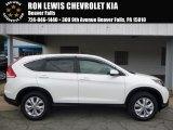 2013 White Diamond Pearl Honda CR-V EX AWD #115590960