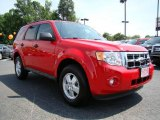 2009 Torch Red Ford Escape XLT V6 #11544713