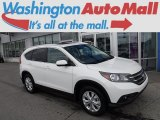 2014 White Diamond Pearl Honda CR-V EX-L AWD #115618491