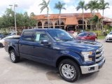 2016 Blue Jeans Ford F150 Lariat SuperCrew 4x4 #115618484