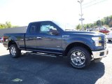 2016 Blue Jeans Ford F150 Lariat SuperCab 4x4 #115637851