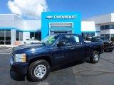 2011 Imperial Blue Metallic Chevrolet Silverado 1500 Extended Cab #115637889