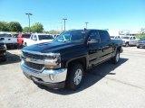2017 Black Chevrolet Silverado 1500 LT Crew Cab 4x4 #115638086
