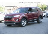 2017 Ruby Red Ford Explorer XLT 4WD #115637882