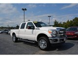 2015 Oxford White Ford F250 Super Duty Lariat Crew Cab 4x4 #115637871