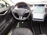 2013 Tesla Model S P85 Performance Dashboard