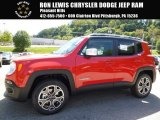 2016 Colorado Red Jeep Renegade Limited 4x4 #115637968